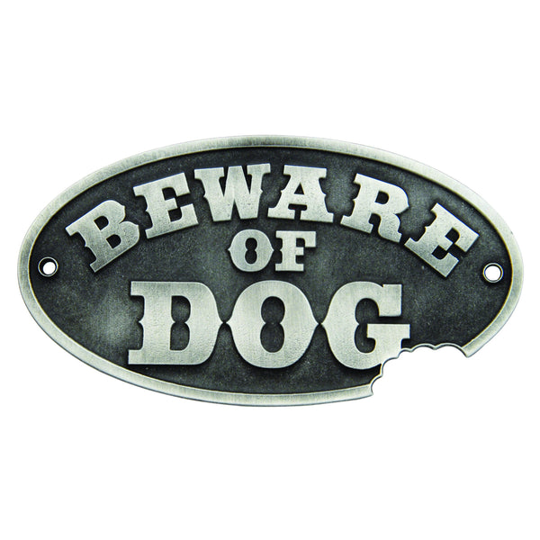 Beware of Dog Wall Plaque