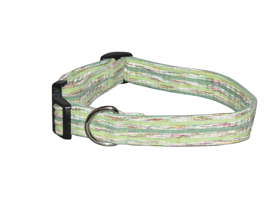 Elmou0027s Closet Lime Zest Dog Collar