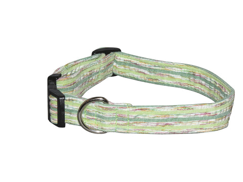 Elmo's Closet Lime Zest Dog Collar