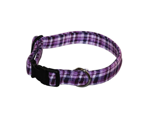 Elmo's Closet Lovely Lavender Dog Collar