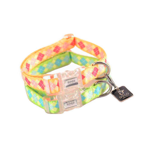 Dogo Contempo Dog Collar - Argyle