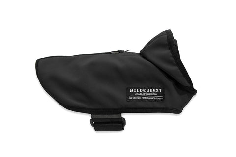 All Weather Dog Jacket - Black