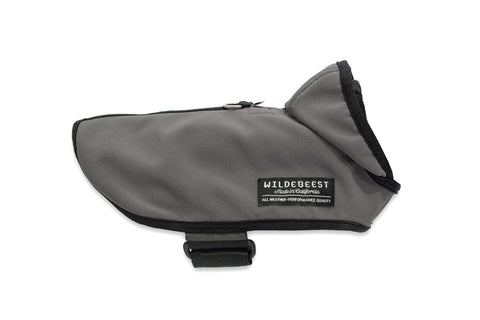 All Weather Dog Jacket - Charcoal