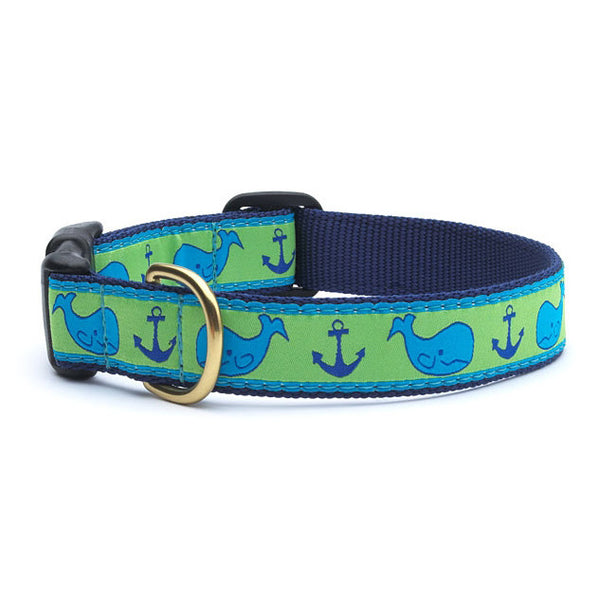Up Country Whale Dog Collar
