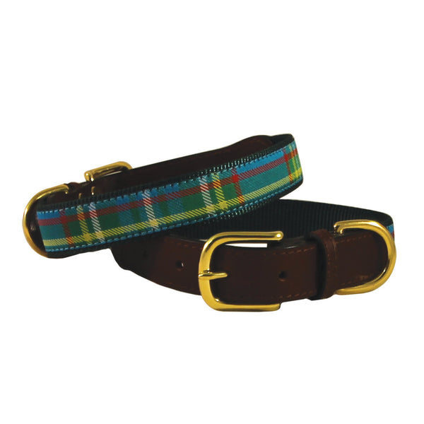 American Traditions Kendall Plaid Dog Collar