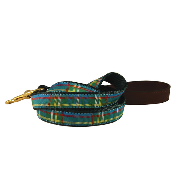 American Traditions Kendall Plaid Dog Leash