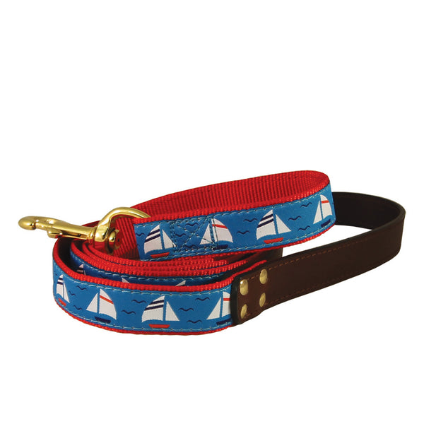 American Traditions Sailboats Dog Leash