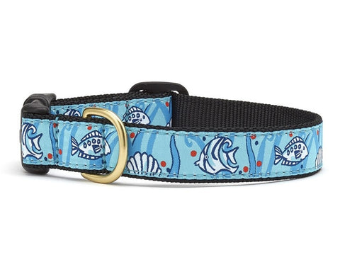 Up Country Angel Fish Dog Collar