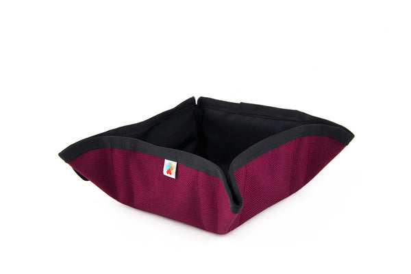Funston To-Go Dog Bowl - Maroon