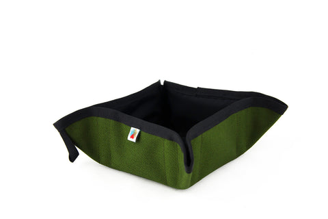 Funston To-Go Dog Bowl - Olive