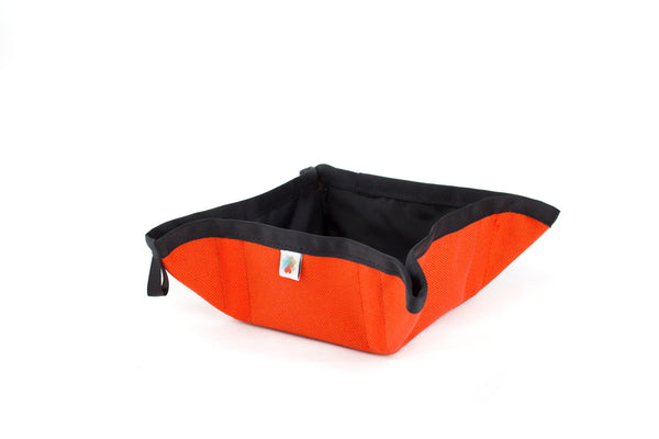 Funston To-Go Dog Bowl - Orange