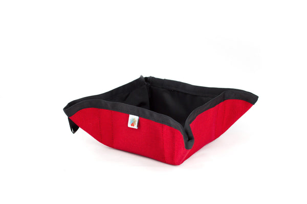 Funston To-Go Dog Bowl - Red