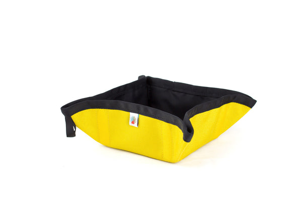 Funston To-Go Dog Bowl - Yellow