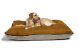 Big Shrimpy Bogo Dog Bed - Brown Suede Top