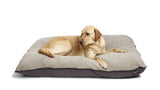 Big Shrimpy Bogo Dog Bed - Plum Purple Berber Fleece