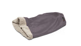 Big Shrimpy Den Dog & Cat Bed - Plum Flat