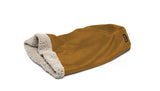 Big Shrimpy Den Dog & Cat Bed - Saddle laying flat