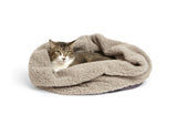 Big Shrimpy Den Dog & Cat Bed - Fleece
