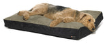 Big Shrimpy Original Dog Bed rectangle gray