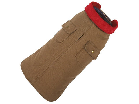 Up Country Chester Barn Dog Coat - Tan