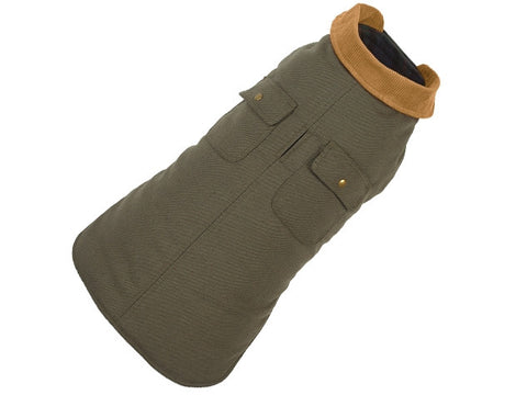 Up Country Chester Barn Dog Coat - Green