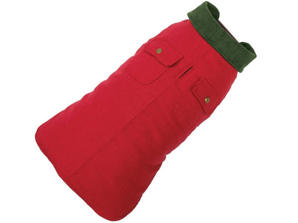 Up Country Chester Barn Dog Coat - Red