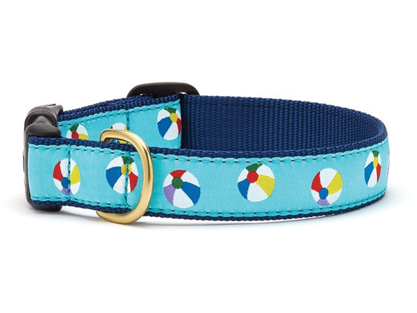 Up Country Beach Balls Dog Collar