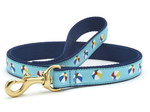 Up Country Beach Balls Dog Leash