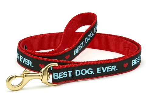 Up Country Best Dog Ever Dog Leash