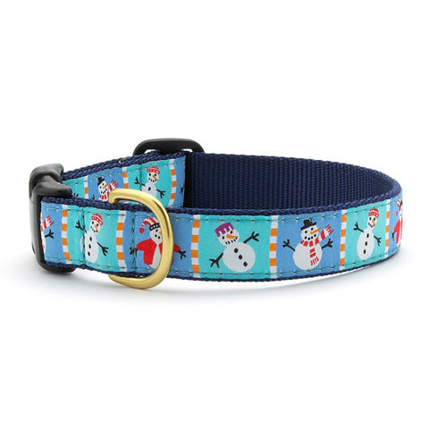 Up Country Snowman Dog Collar