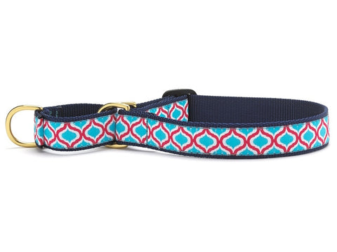 Up Country Blue Kismet Martingale Dog Collar
