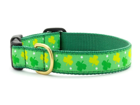 Up Country Shamrock Dog Collar