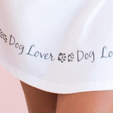 Cotton Pajama Long Sleeve Shirt - Dog Lover