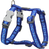 Red Dingo Designer Dog Harness - Cosmos (Dark Blue)