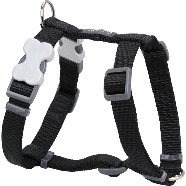 Red Dingo Classic Dog Harness - Black