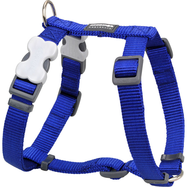 Red Dingo Classic Dog Harness - Dark Blue