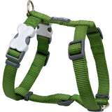 Red Dingo Classic Dog Harness - Green