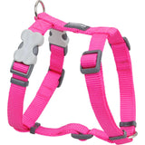 Red Dingo Classic Dog Harness - Hot Pink