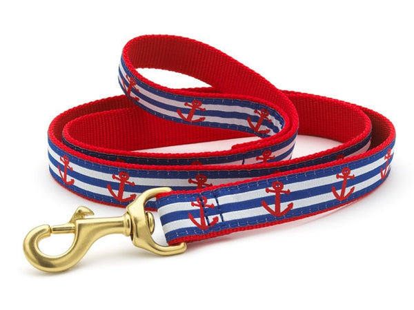 Up Country Anchors Aweigh Dog Leash