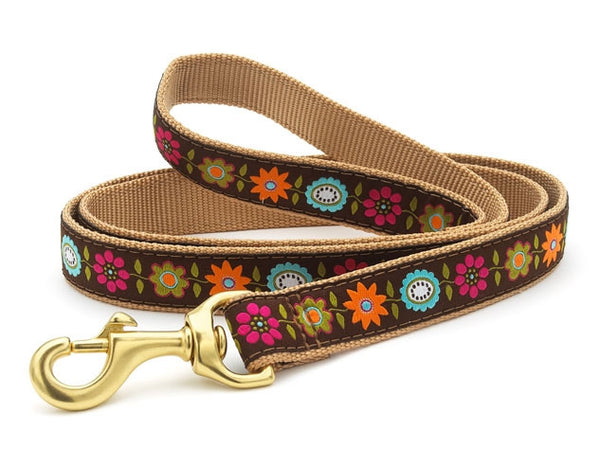 Up Country Bella Floral Dog Leash