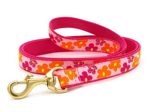 Up Country Flower Power Dog Leash