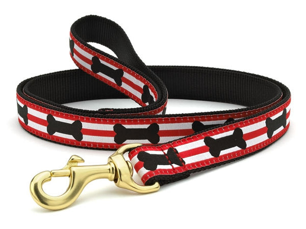 Up Country Got Bones Dog Leash