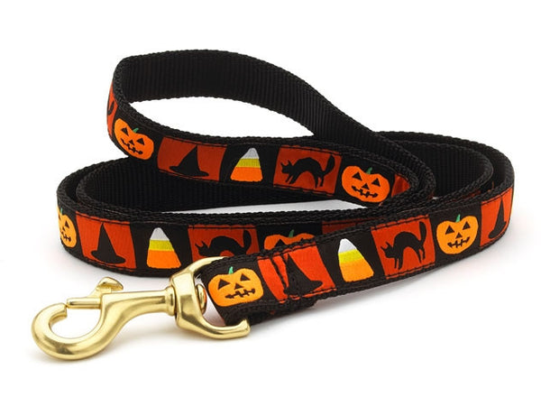 Up Country Halloween Dog Leash