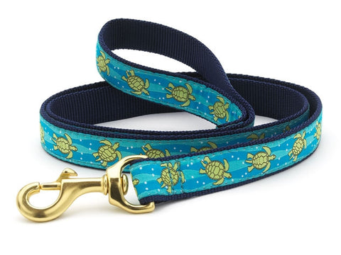 Up Country Sea Turtle Dog Leash