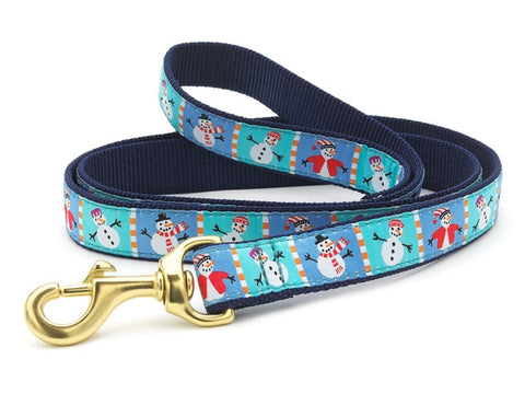 Up Country Snowman Dog Leash