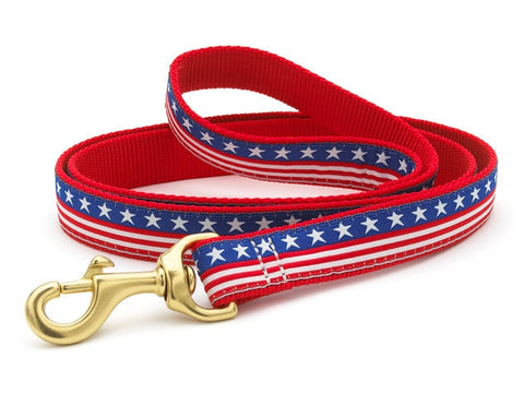 Up Country Stars & Stripes Dog Leash