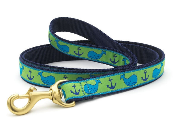 Up Country Whale Dog Leash