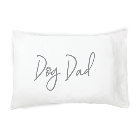 Dog Dad Single Pillowcase