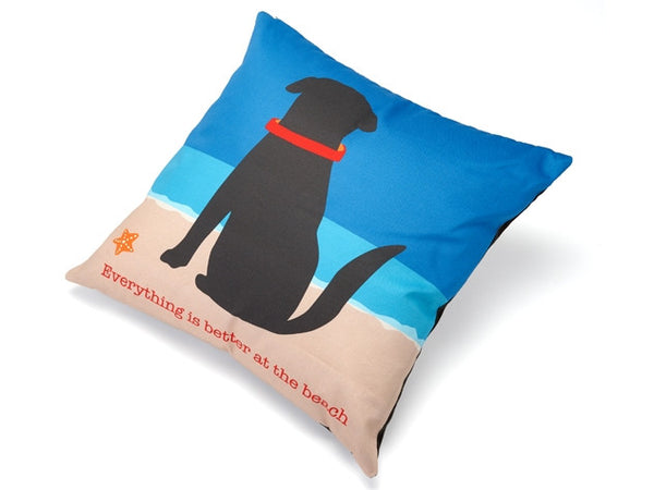Everything is Better at the Beach Accent Pillow