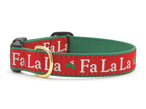 Up Country Fa La La Dog Collar